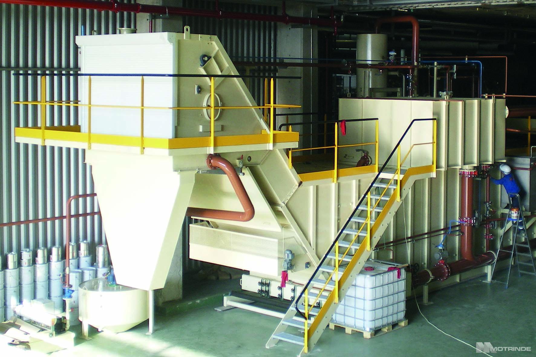 Central Filtración de Aceites de Corte